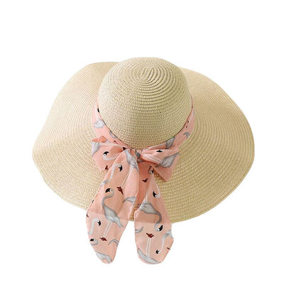 Ribbon Beach Hat