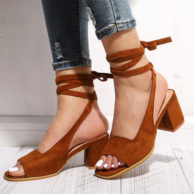 Open Toe Slingbacks