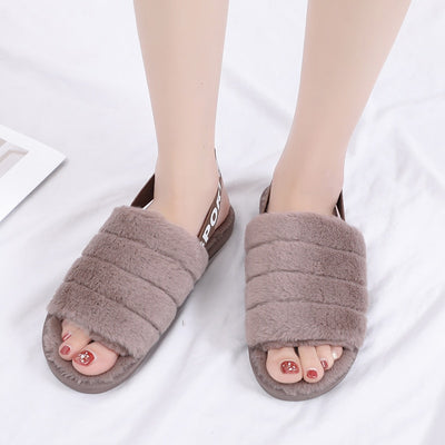 Winter Plush Slippers