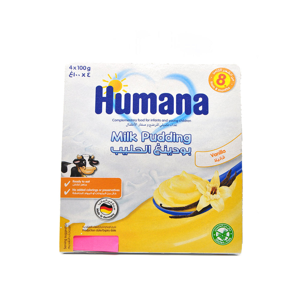 Humana Milk Pudding Vanilla