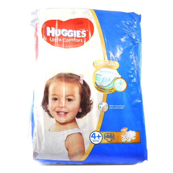 Huggies Diaper 4+ Jumbo Pack (46's)