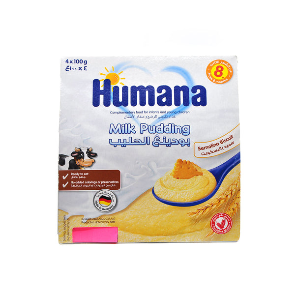Humana Milk Pudding Semolina Biscuit