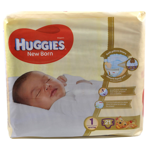 Huggies Diaper Newborn Size 1 (21's)