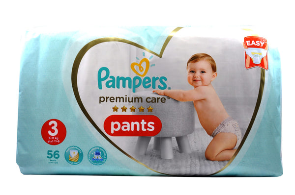 Pampers Premium Care Pants Size 3 (56's)