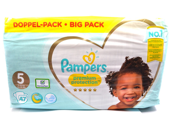 Pampers Premium Protection Diapers Size 5 Big Pack (47's)