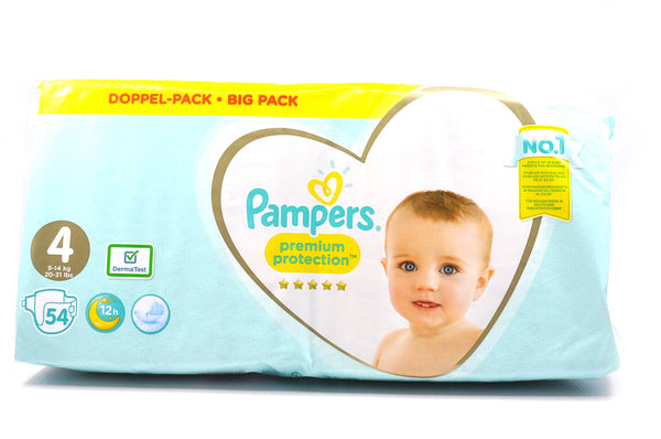 Pampers Premium Protection Diapers Size 4 Big Pack (54's)