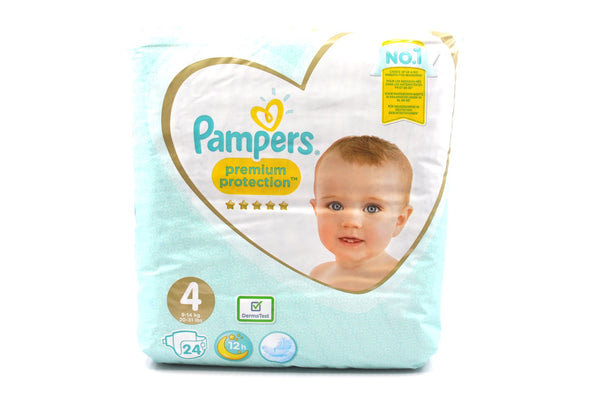 Pampers Premium Protection Diapers Size 4 (24's)