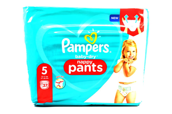 Pampers Baby Dry Nappy Pants Size 5