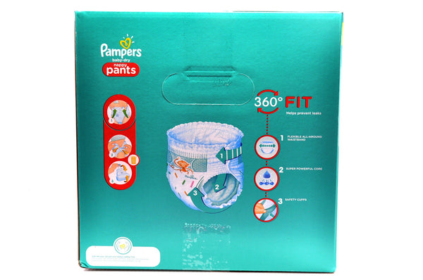 Pampers Baby Dry Nappy Pants Size 6 Mega Pack (66's)