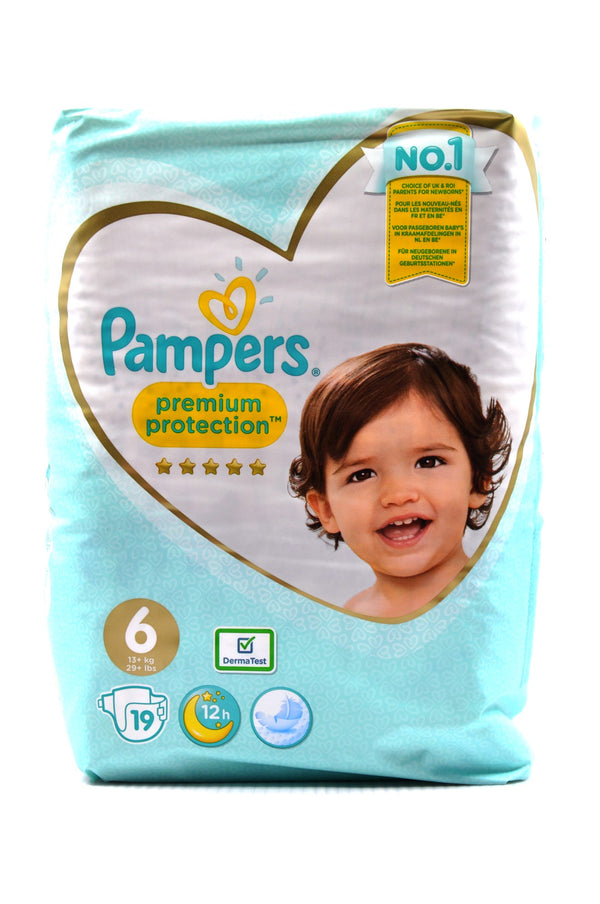 Pampers Premium Protection Size 6