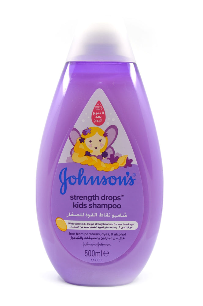Johnson's Strength Drops Kids Shampoo