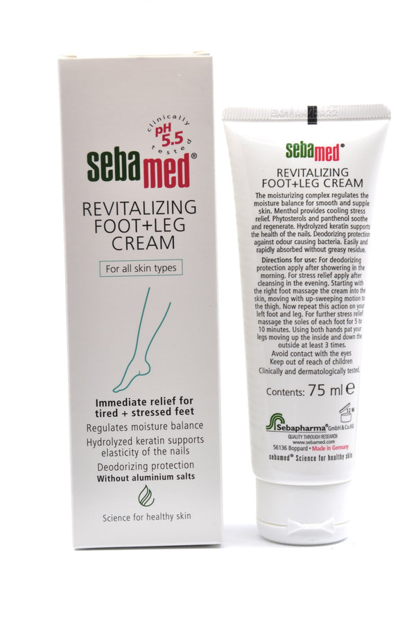 Sebamed Revitalizing Foot and Leg Cream