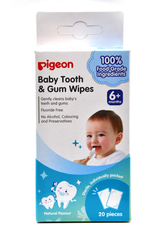 Pigeon Baby Tooth & Gum Wipes