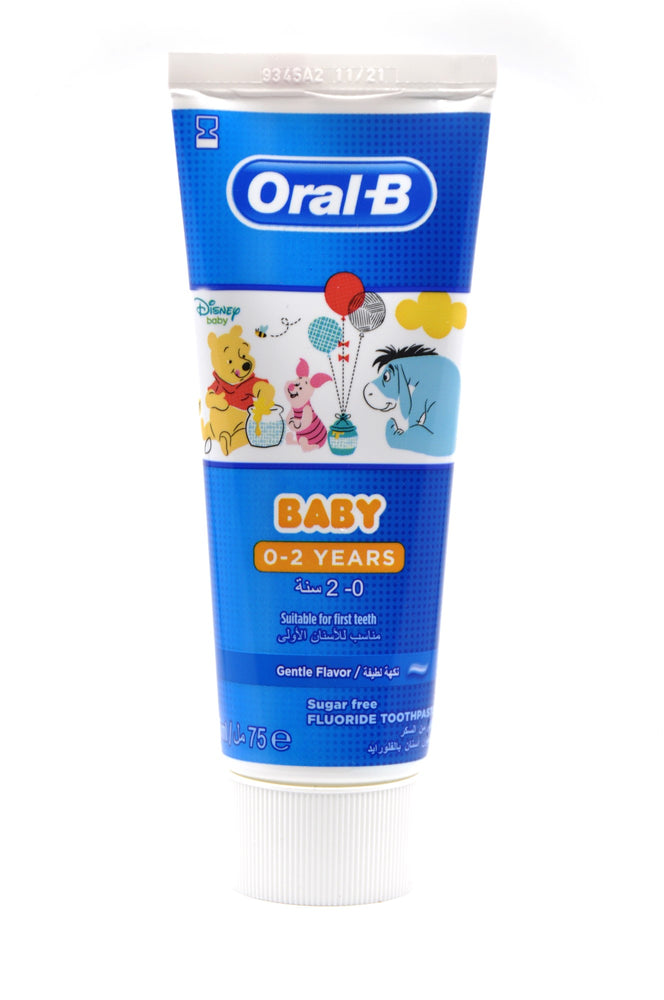 Oral B Child Toothpaste Winnie The Pooh