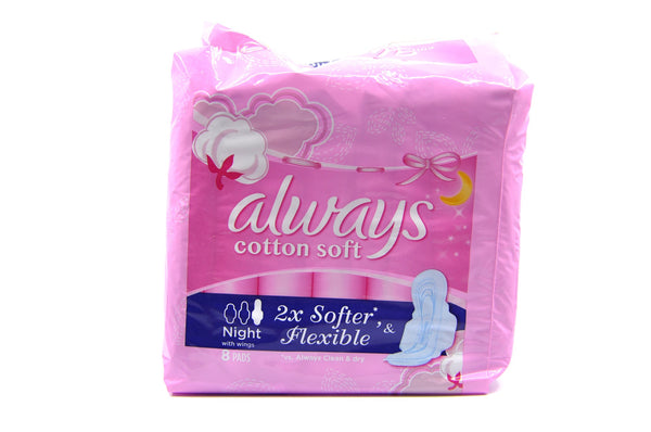 Always Cotton Soft Night with Wings Night Premium