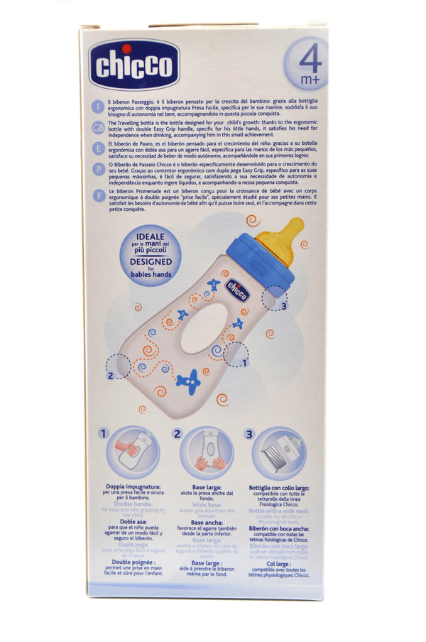 Chicco Baby Travelling Bottle 240 ml Boy