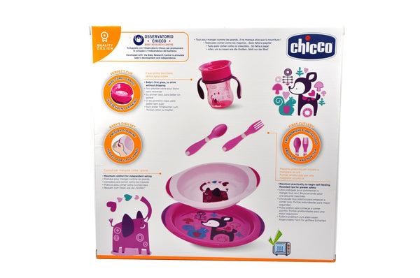 Chicco Weaning Set For Boys and Girls