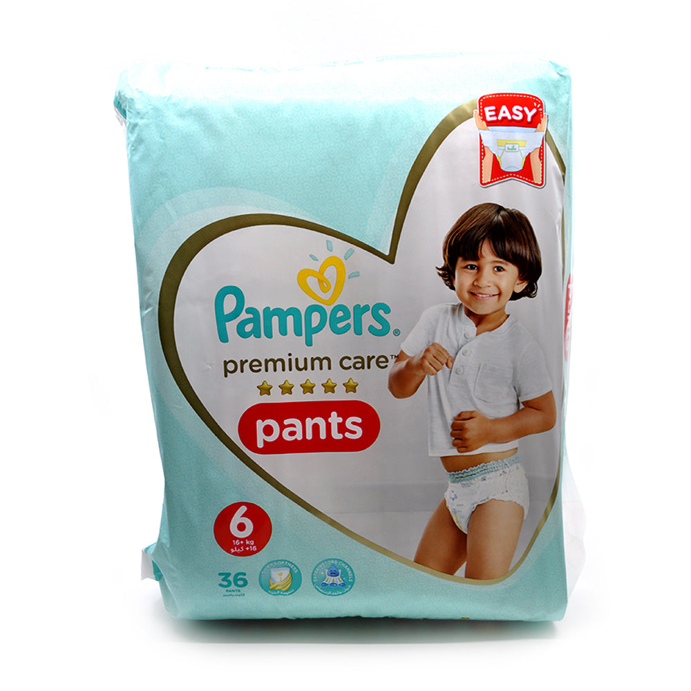 Pampers Premium Care Pants Size 6 (36's)