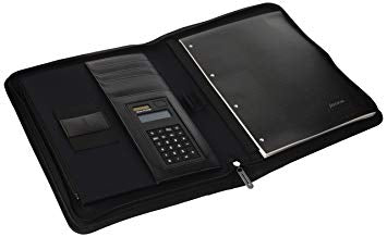 A4 Metropol Zipped Folio With Calculator ΜΑΥΡΟ FILOFAX - Δώρα - Ίαμβος