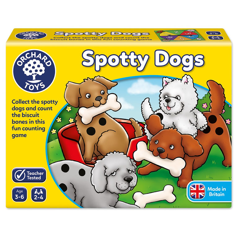 ORCHARD TOYS SPOTTY DOGS GAME - Παιχνίδια - Ίαμβος