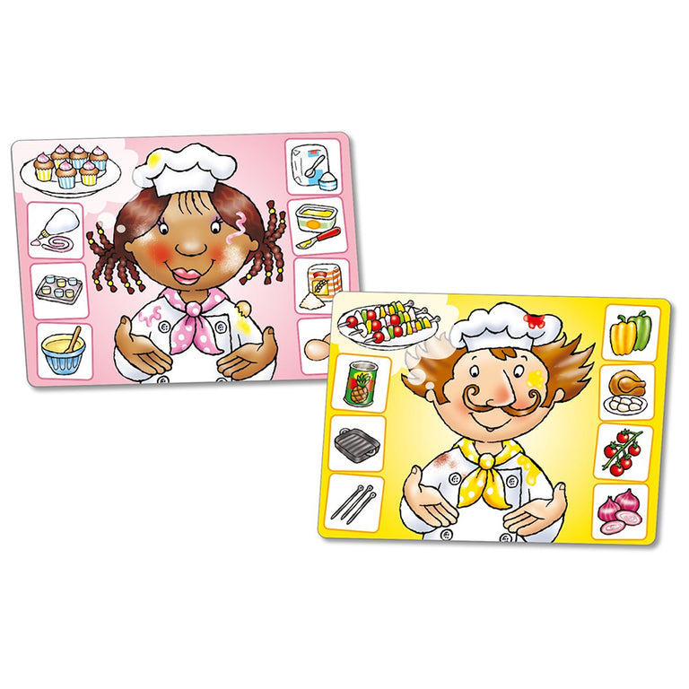 ORCHARD TOYS CRAZY CHEFS GAME - Παιχνίδια - Ίαμβος