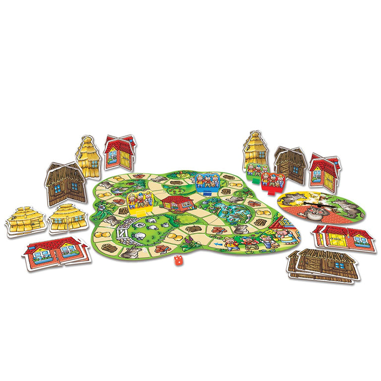 ORCHARD TOYS THREE LITTLE PIGS BOARD GAME - Παιχνίδια - Ίαμβος