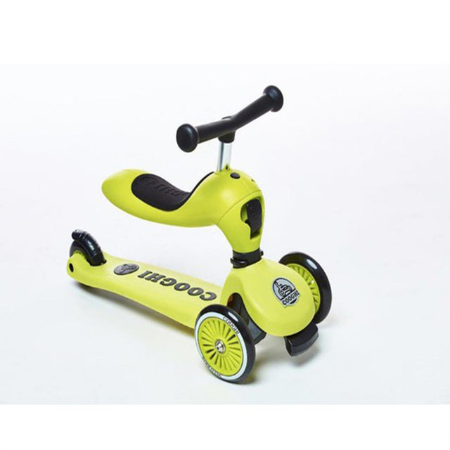 COOGHI SCOOTER VELO KIDS 2 ΚΙΤΡΙΝΟ ΣΚΟΥΤΕΡ