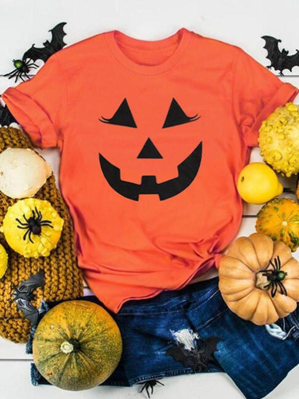 Halloween Smile Pumpkin T-shirt