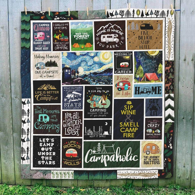Campaholic Camping Blanket Quilt