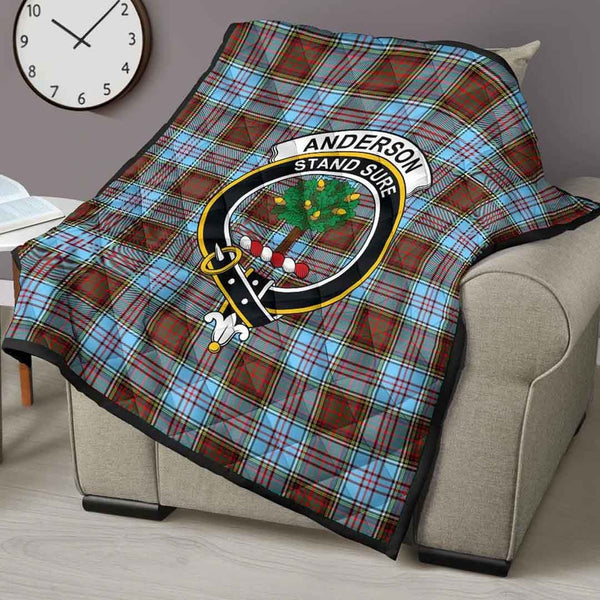 [PRE-SALE] Anderson Ancient Tartan Clan Badge Blanket Quilt
