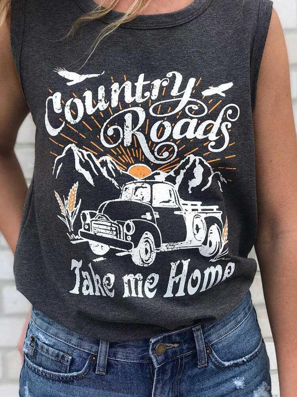Country Roads Take Me Home Tank