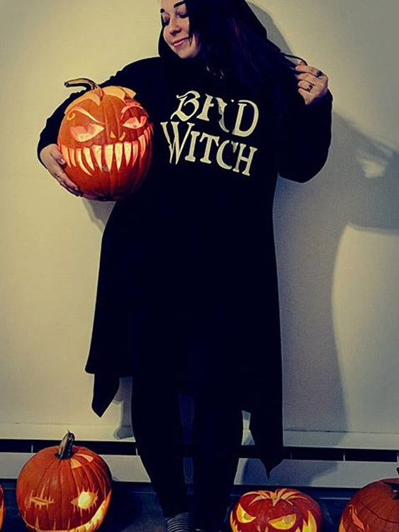 Bad Witch Long Robe Hoodie