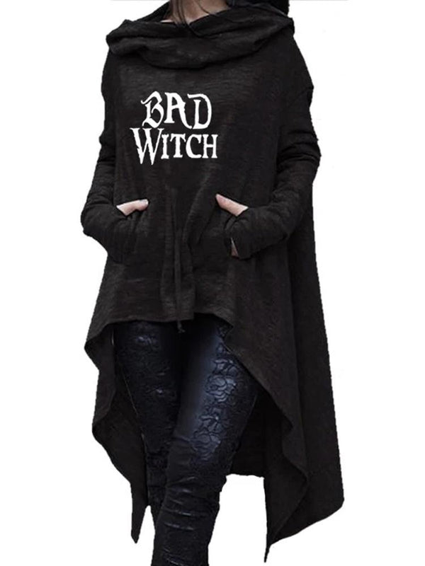 Bad Or Good Witch Long Robe Hoodie