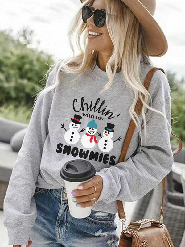 Chillin' With My Snowmies Sweatshirt