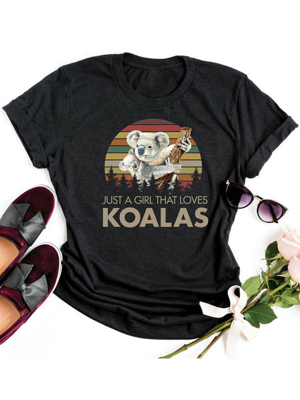 [PRE-SALE] Just A Girl That Loves Koalas Tee