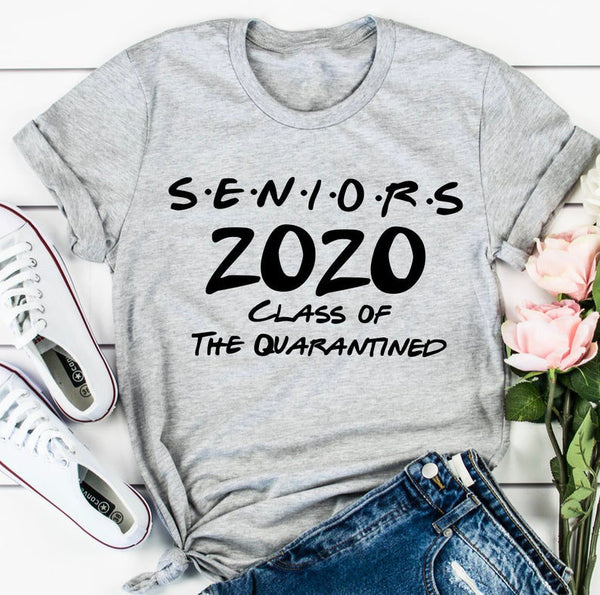 Seniors 2020 Class Of The Quarantined Tee
