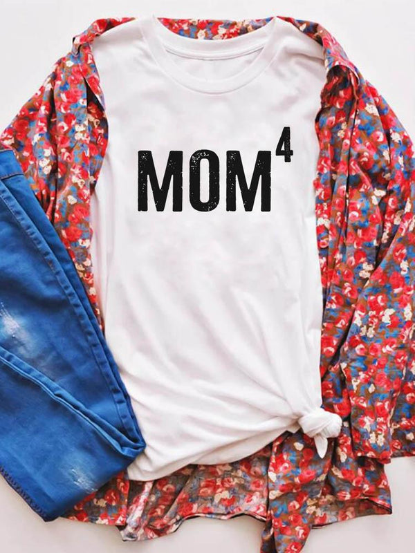 Mom4 Great Mom Printed Tee
