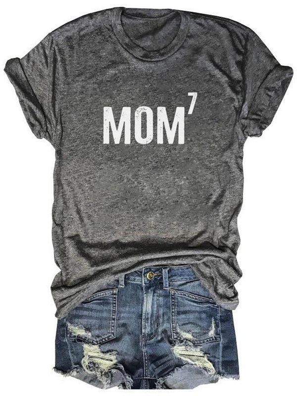 Mom7 Great Mom Printed Tee