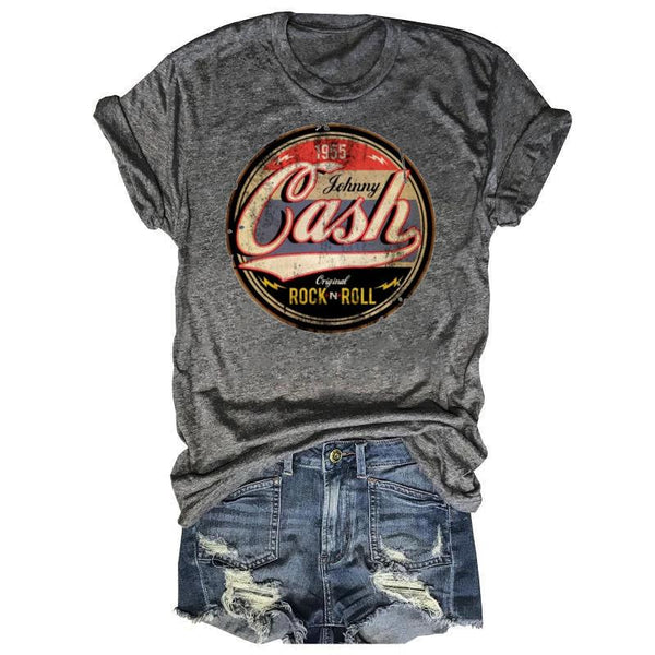Johnny Cash Original Rock N Roll Tee