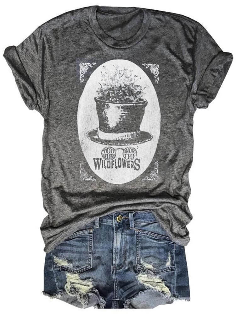 Tom Petty You Belong Among The Wildflowers Graphic Tee