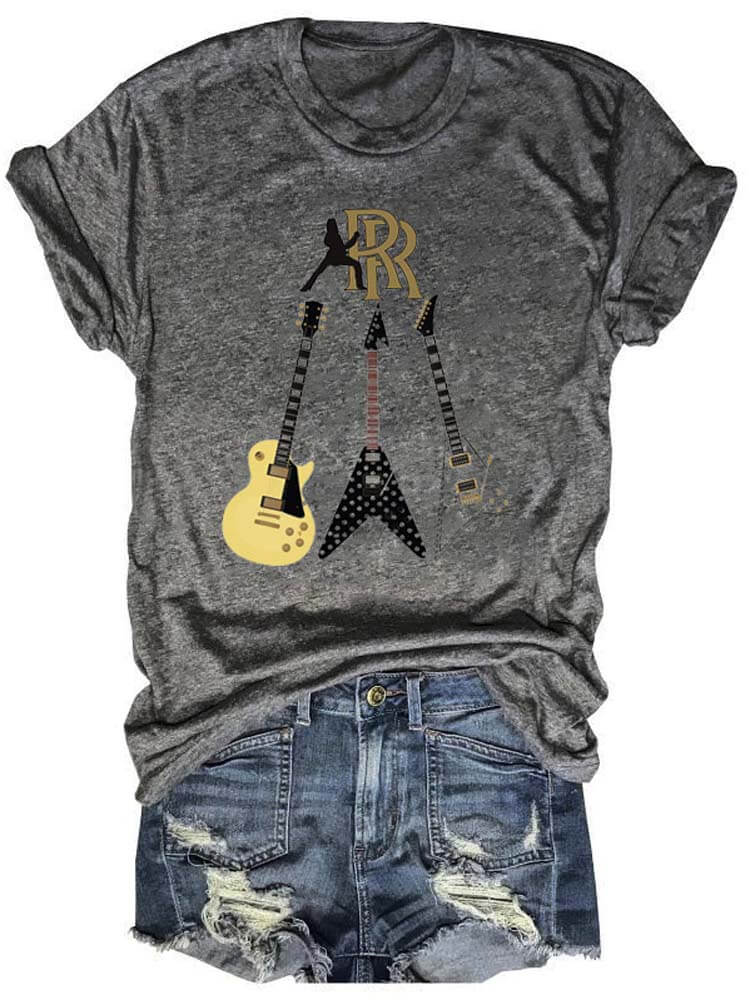 Randy Rhoads Collection Rock Tee