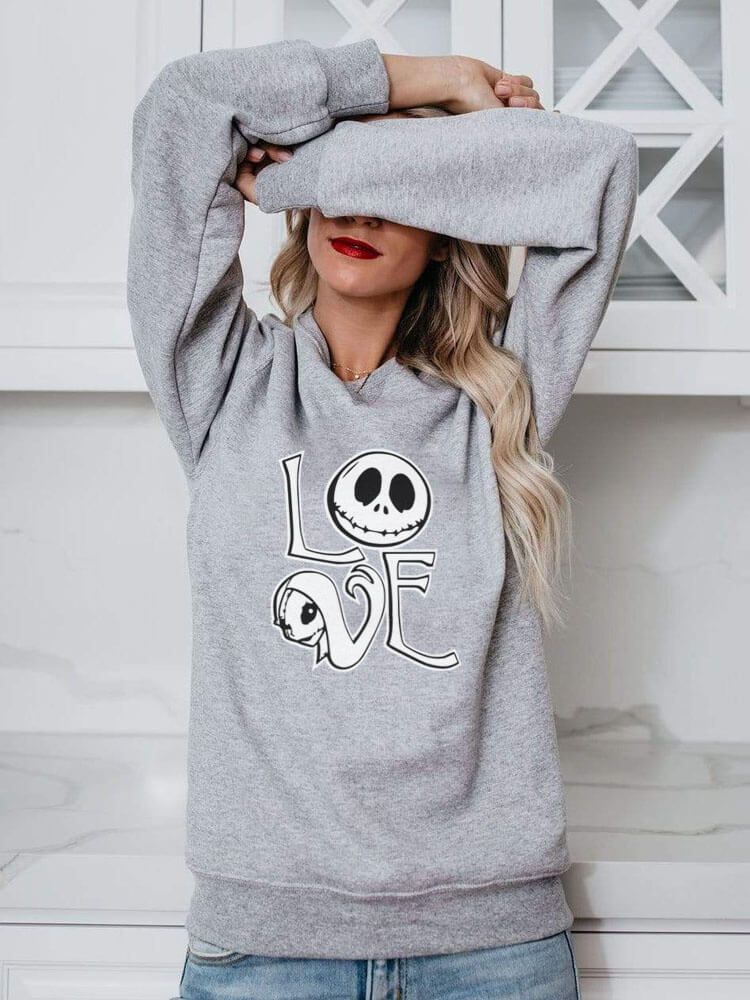 Jack And Sally's Love Sweatshirt