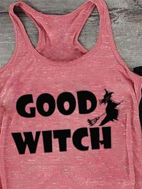Good Witch Bad Witch Drunk Witch BF Funny Tank
