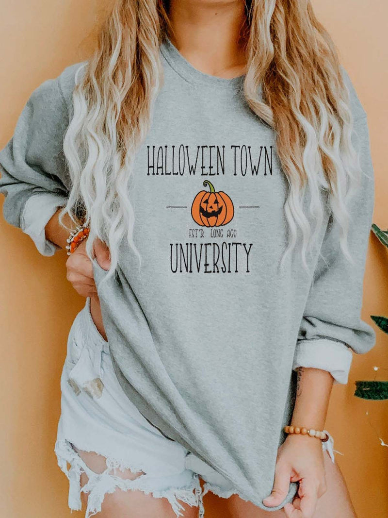 Halloween Town University Pumpkin Sweatshirt