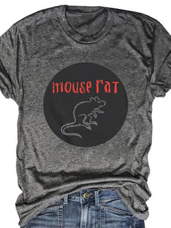 Parks & Receation Mouse Rat Pawnee Band Tee