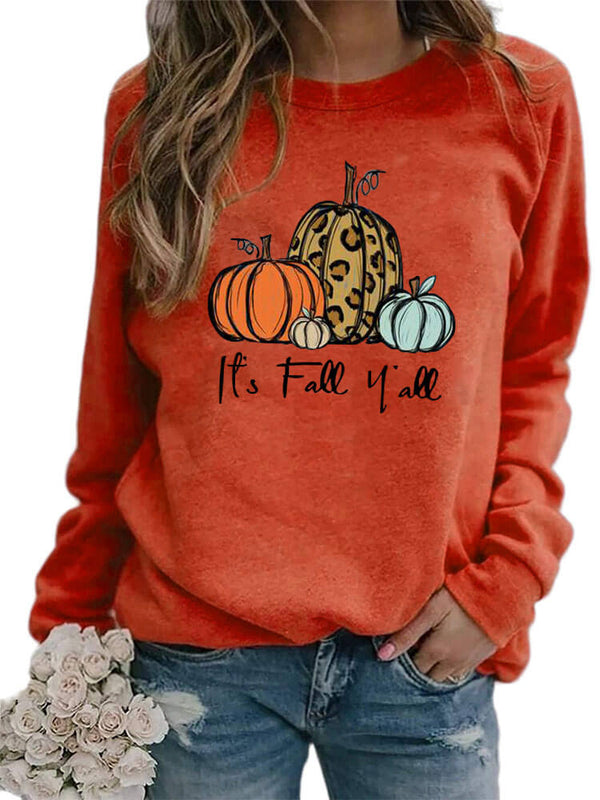 It's Fall Yall Pumpkins Sweatshirt