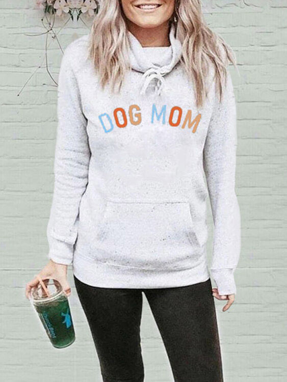 Dog Mom Pocket Sweatshirt