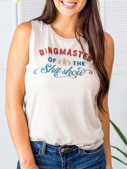 Ringmaster Of The Show Tank Top