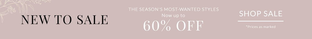 Up to 60% Off New Markdowns