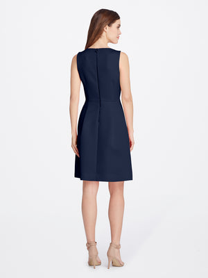 Faille Bow Dress